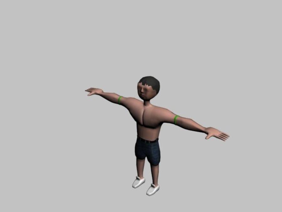 postać royalty-free 3d model - Preview no. 3