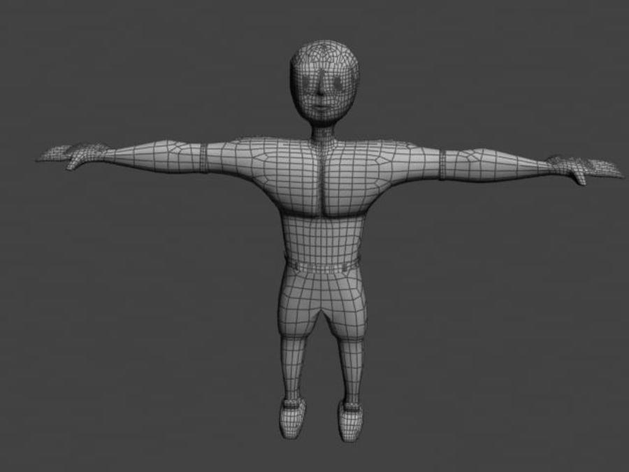 postać royalty-free 3d model - Preview no. 4
