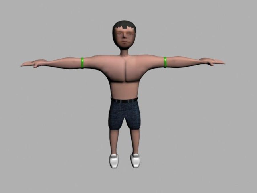 postać royalty-free 3d model - Preview no. 1