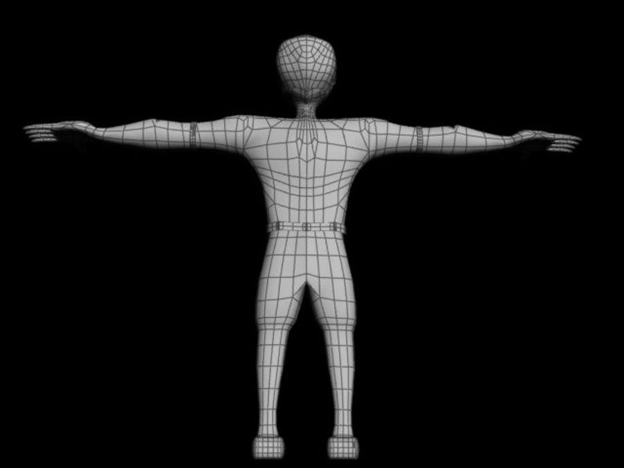 postać royalty-free 3d model - Preview no. 5