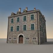 Italiaans gebouw 011 3d model