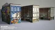 DBuzzi 3D Scan Grafitti Buildings 3d model