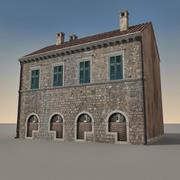 イタリアの建物012 3d model
