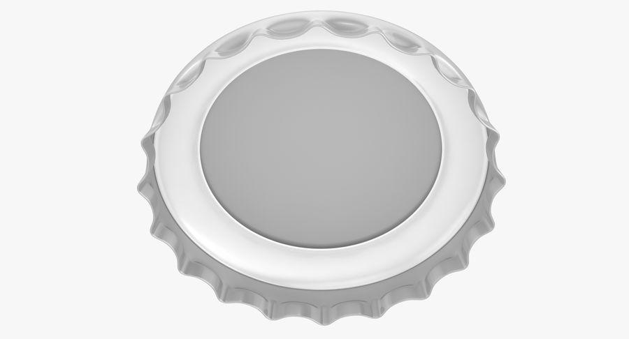 Bottle Cap royalty-free 3d model - Preview no. 5