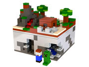 Lego Minecraft - Micro Mundo - El Bosque modelo 3d