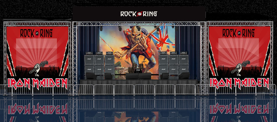 ミュージックステージ royalty-free 3d model - Preview no. 1
