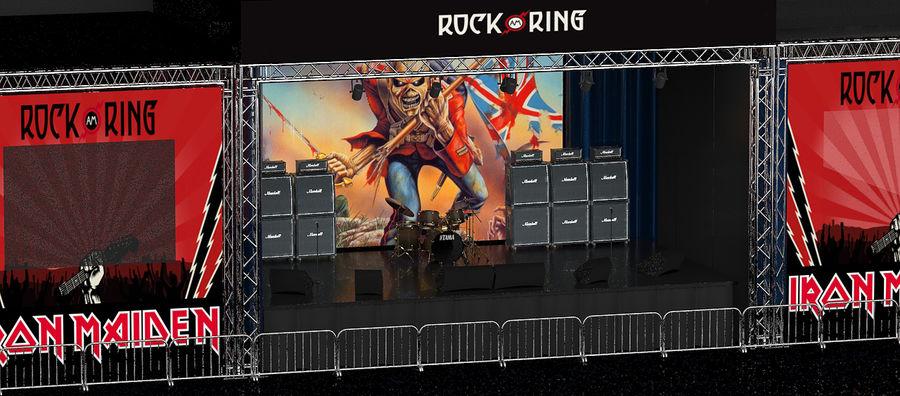 ミュージックステージ royalty-free 3d model - Preview no. 4