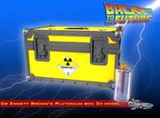BTTF Plutonium-doos 3d model