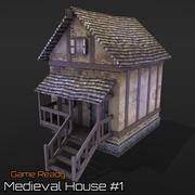 Medieval House # 1 3d model
