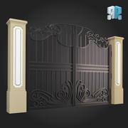 Gate 011 3d model