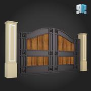 Gate 019 3d model