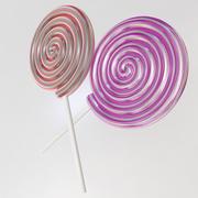 Lollipops 3d model