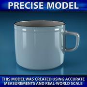 咖啡杯 3d model