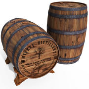Whisky fat 3d model
