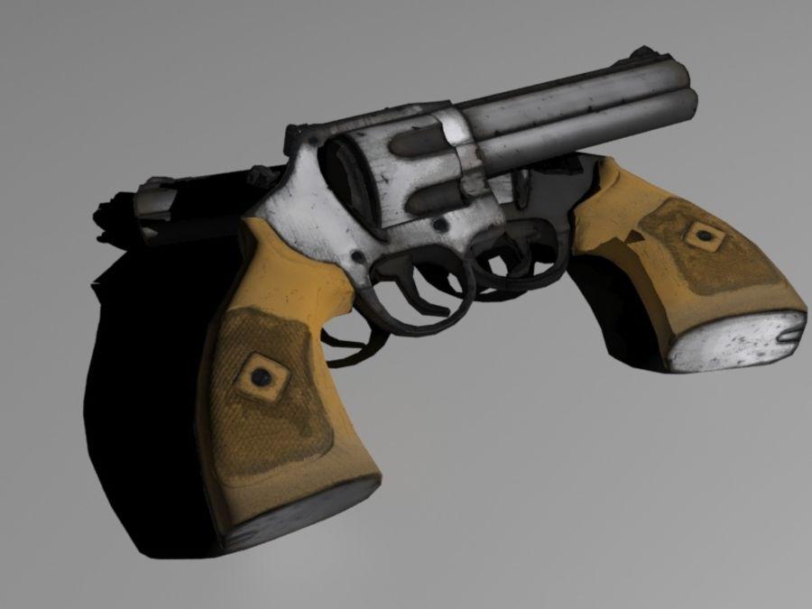 左轮手枪 royalty-free 3d model - Preview no. 1