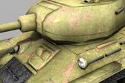 t-34 85 3d model