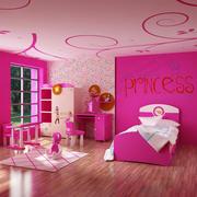 Sala de las niñas modelo 3d