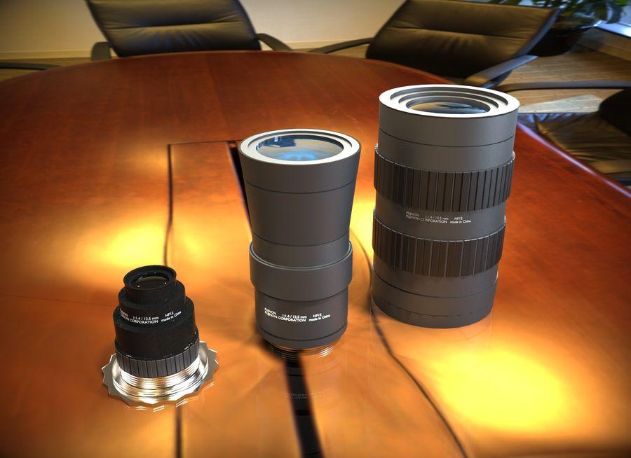 Lenti della macchina fotografica royalty-free 3d model - Preview no. 1