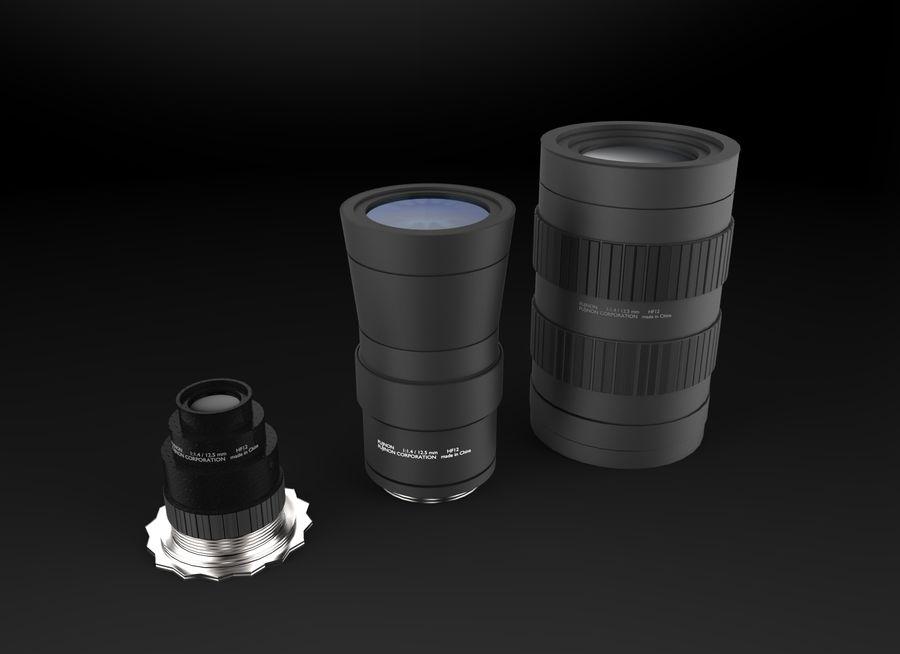 Lenti della macchina fotografica royalty-free 3d model - Preview no. 6