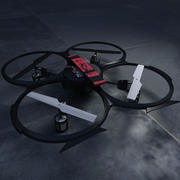 Drone Quadcopter 3d model