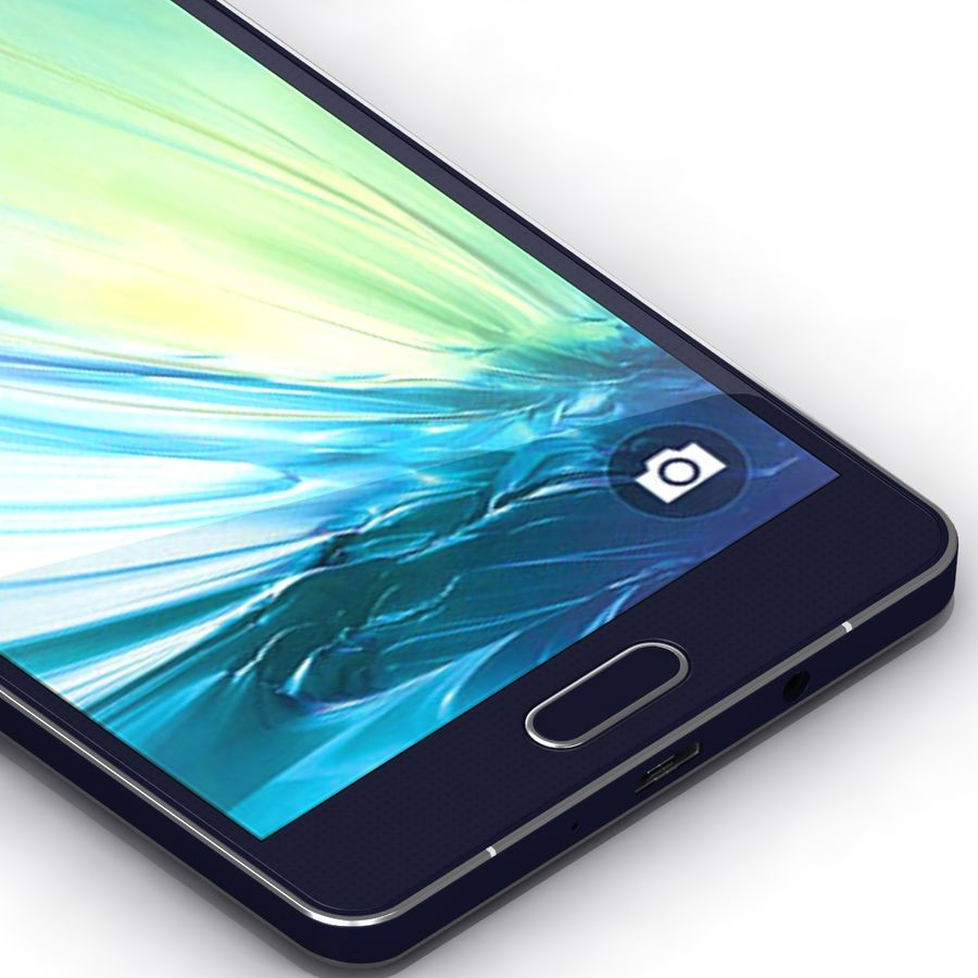 Samsung Galaxy A5 royalty-free 3d model - Preview no. 10