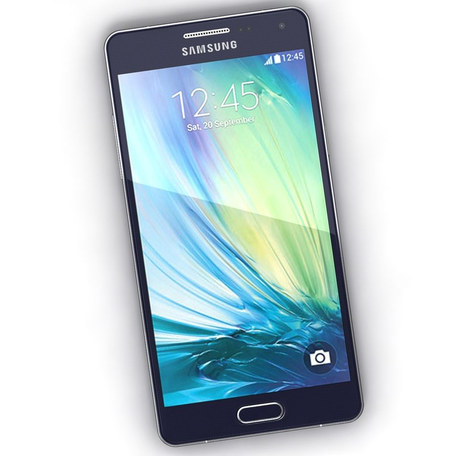 Samsung Galaxy A5 royalty-free 3d model - Preview no. 4