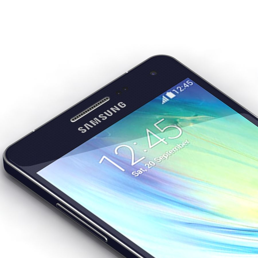 Samsung Galaxy A5 royalty-free 3d model - Preview no. 6