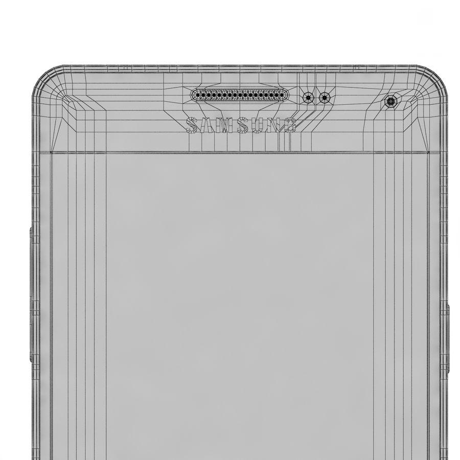Samsung Galaxy A5 Cyan royalty-free 3d model - Preview no. 13