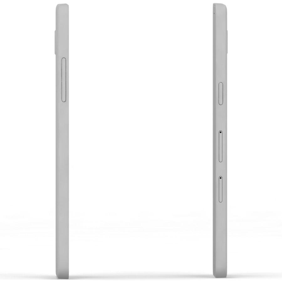 Samsung Galaxy A5 Cyan royalty-free 3d model - Preview no. 18