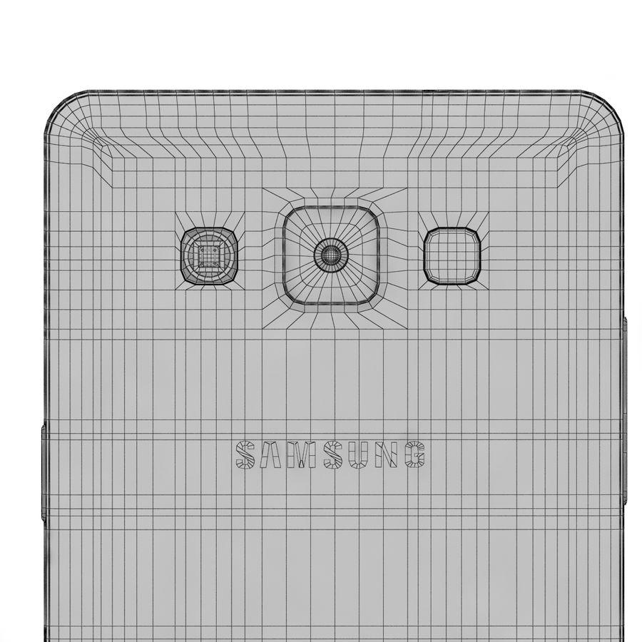 Samsung Galaxy A5 Cyan royalty-free 3d model - Preview no. 14