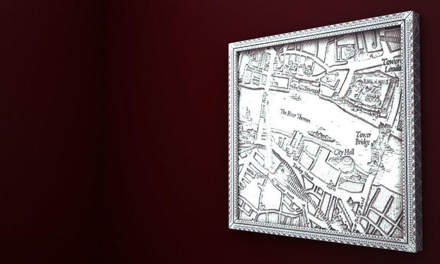 PŁÓTNIE SCUPTURE 3D ARCHITECTURE 2014 RAW royalty-free 3d model - Preview no. 6