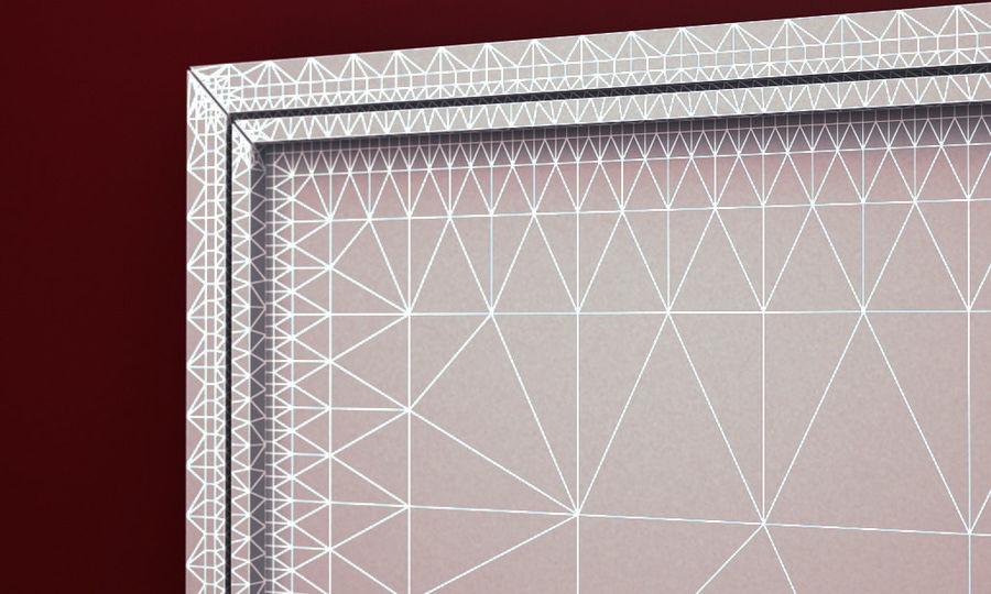 PŁÓTNIE SCUPTURE 3D ARCHITECTURE 2014 RAW royalty-free 3d model - Preview no. 7