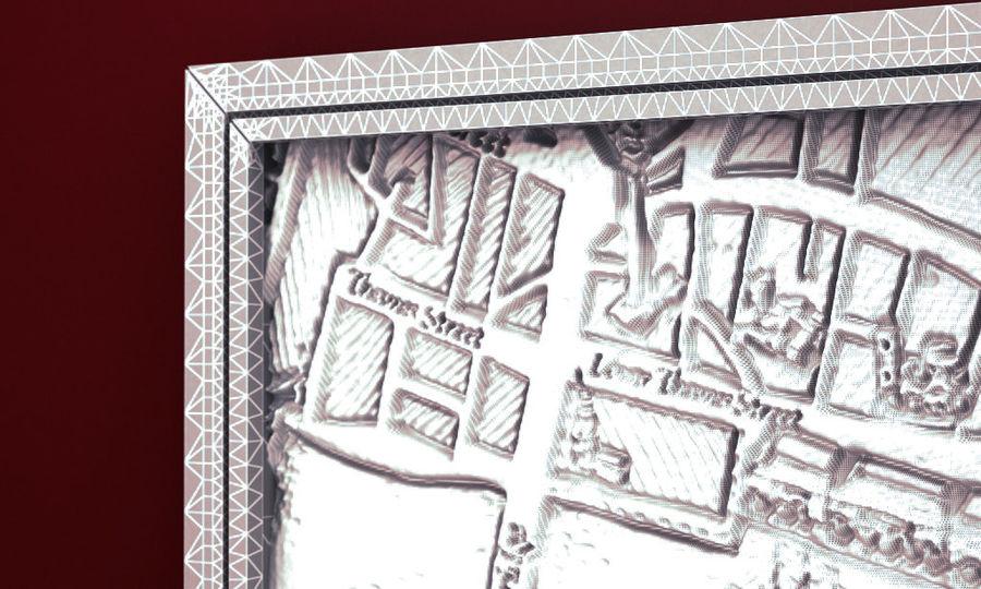 PŁÓTNIE SCUPTURE 3D ARCHITECTURE 2014 RAW royalty-free 3d model - Preview no. 8