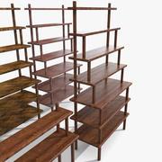Na stole Regały stojące Meble montowane na alkohol Wyposażenie cokołu wystawa sklep sklep towar towar 3d model