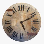 Reloj 02, rústico modelo 3d