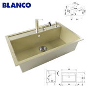 BLANCO DALAGO 8和混合器BLANCO TIVO-S 3d model