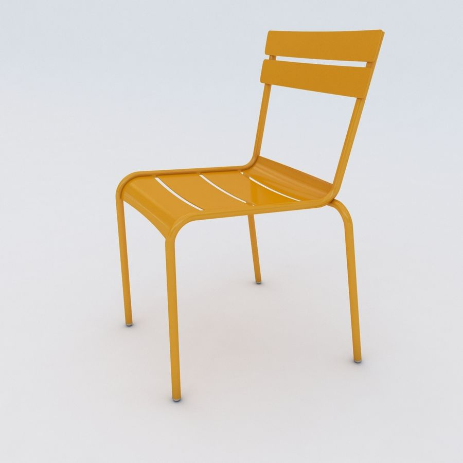Luxemburger Stuhl und Sessel royalty-free 3d model - Preview no. 5