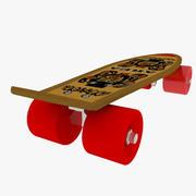 Skating Board 02 3d model