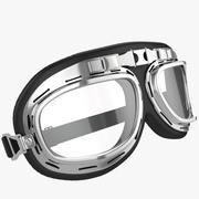Motorfiets pilootbril 3d model