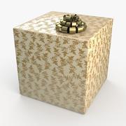 圣诞BOX霜 3d model