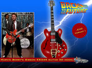 Gibson ES-345 Guitar 3d model