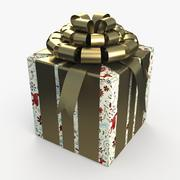 Christmas BOX Cała sztuka 3d model