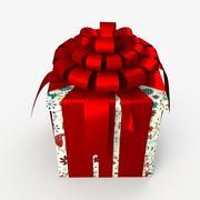 Kerstdoos gesloten Alle kunst 3d model