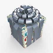 Christmas BOX Closed2 Cała sztuka 3d model