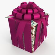 Christmas BOX Closed3 Cała sztuka 3d model