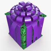 Christmas BOX Closed4 Cała sztuka 3d model