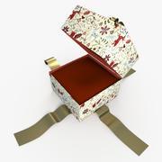 Christmas BOX Jewelbox Cała sztuka 3d model