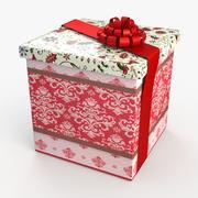 Christmas BOX Taśma zamknięta z wełny 3d model