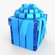 Christmas BOX Closed2 Cała wełna 3d model