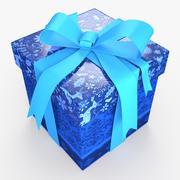 Christmas BOX Closed2 Wełna wstążka 3d model